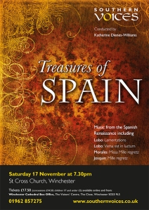 Treasures of Spain - Southern Voices concert