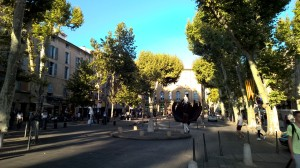 Cours Mirabeau - site of a few sherbs