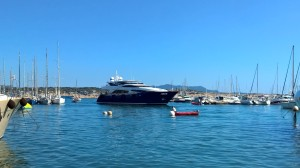 Boats arriving in Bandol