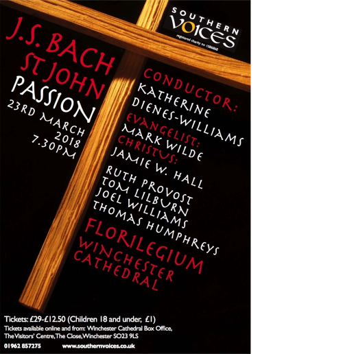 JS Bach St Matthew Passion March 2018